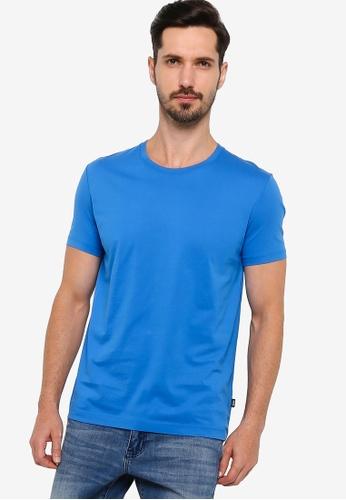 BOSS 藍色 Tiburt 55 T-Shirt D360BAA8583F9CGS_1