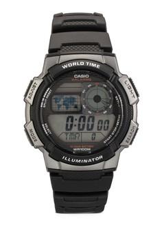 Casio 男性樹脂手錶