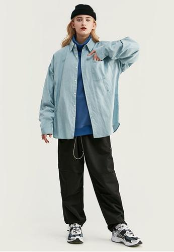 Twenty Eight Shoes Trendy Loose Lapel Shirt 92134W 195FAAAE01E873GS_1