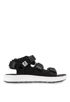 a4e1ac152 New Balance black SD750 Sandals 2BA05SHED8264AGS 1