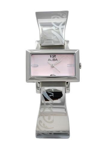Alba silver ALBA Jam Tangan Wanita - Silver Pink - Stainless Steel - AC3S53 1404DAC1E8AA75GS_1
