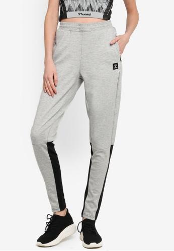 Hummel grey Essi Tapered Pants 32DA0AA30CA776GS_1