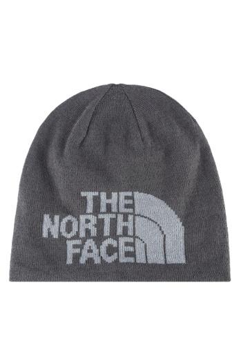 The North Face grey Highline Beanie TH274AC0S7IRMY_1
