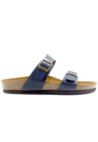 SoleSimple blue Glasgow - Blue Sandals & Flip Flops 495BFSHC7F8340GS_1