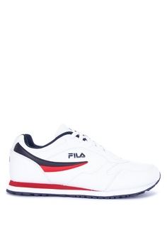 c6902144963 Fila white and multi Classico 18 Lifestyle Sneakers 3EE3CSH3EF8D9CGS_1