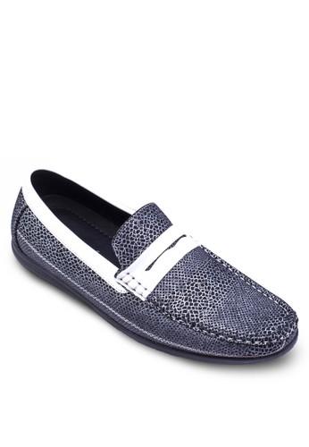 Spain 系列暗紋船型鞋,zalora 心得 鞋, 鞋