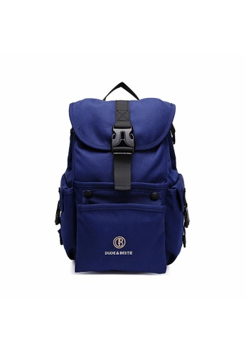 The Dude navy Mad Backpack 4C458ACB73527DGS_1