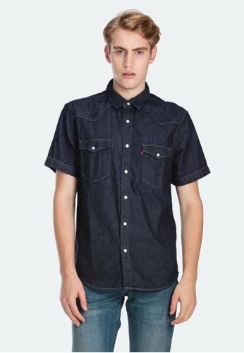 Levi's black Levi's Short Sleeve Classic Western Shirt 86626-0000 3D251AAA83429AGS_1