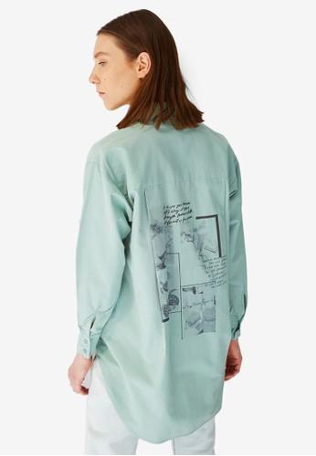 Trendyol green Tunic Shirt 44E71AA9B2433CGS_1