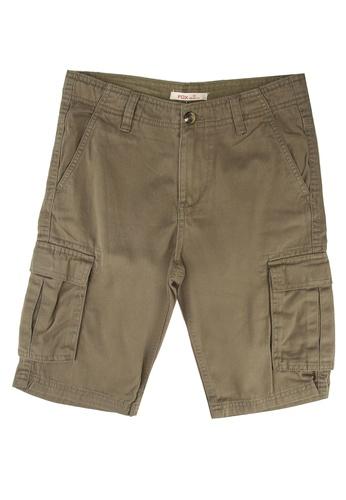 FOX Kids & Baby brown Cargo Shorts 7F79BKAD7BAE7EGS_1