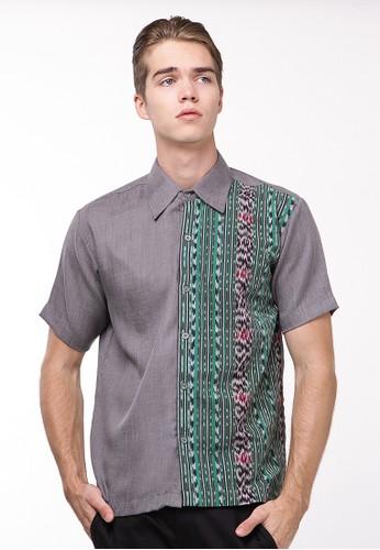 Batik Etniq Craft grey Andra Linen Hem 2BB51AA222250BGS_1