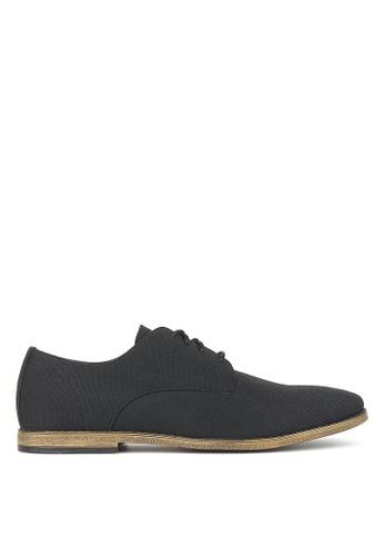 Betts black Rapid Canvas Dress Shoes DB962SH8B38AA6GS_1