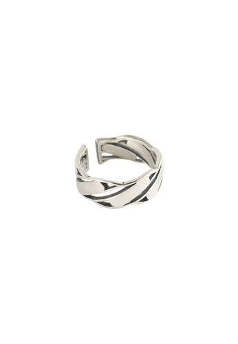 A-Excellence silver Premium S925 Sliver Geometric Ring 5EC3BAC7B2504EGS_1
