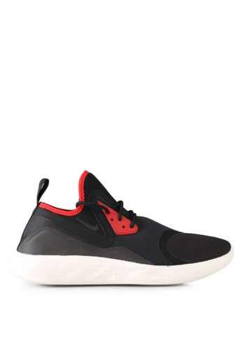 Nike black and red Men's Nike Lunar Charge Essential Shoes NI126SH0STT3MY_1