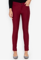 D Fashion Engineer red Wear-to-Work Stretch Pants 7D079AA4254F63GS_1