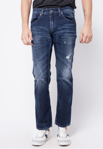 X8 blue Larry Long Pants X8323AA46PPHID_1