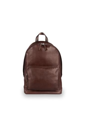 Samuel Ashley brown Aspen Backpack (RFID) - Espresso 6F84EAC5D803DEGS_1