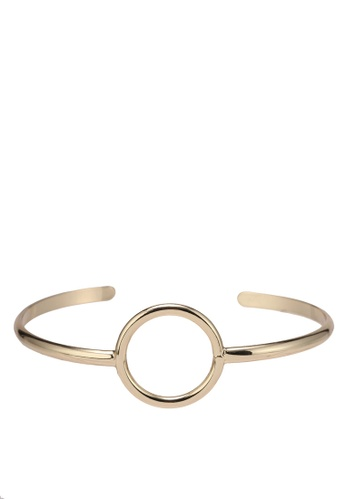 Orelia London gold Open Circle Open Bangle OR747AC0SC55MY_1