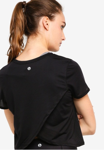 Cotton On Body black Envelope Back T-Shirt 1AEFCAA0F99D27GS_1