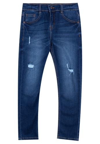 BOSSINI KIDS blue Boys Denim Pants 33A6CKA9ACCDF8GS_1