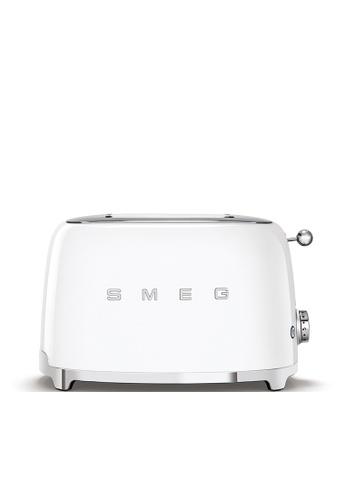 SMEG TSF01WHUK 2-Slice Toaster, White B52F2HL3A4492AGS_1