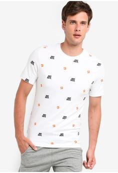 ad9a5bed2 Nike white Nike Sportswear JDI T-Shirt ADC7BAA032548EGS_1