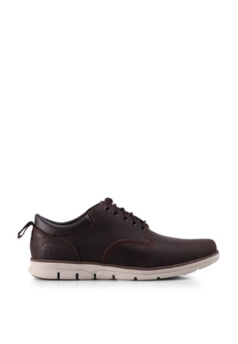 Timberland brown Bradstreet Oxford Shoes 4B48CSHA453641GS_1