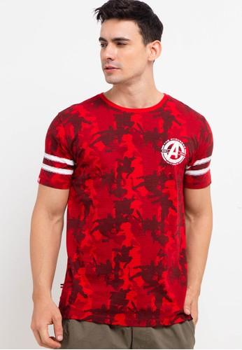 X8 red Yoshiro T-Shirts 9F89EAA4E01F29GS_1