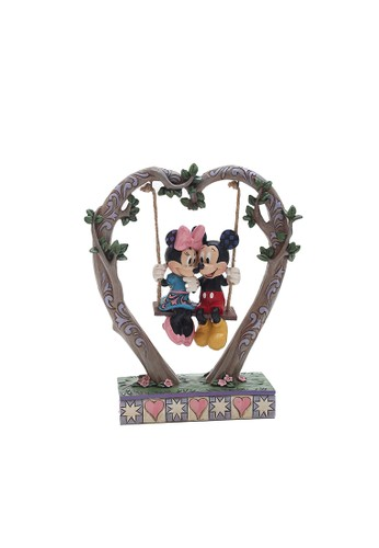 Disney black Disney Traditions Mickey & Minnie Mouse on Swing 8627FTHB51E98FGS_1