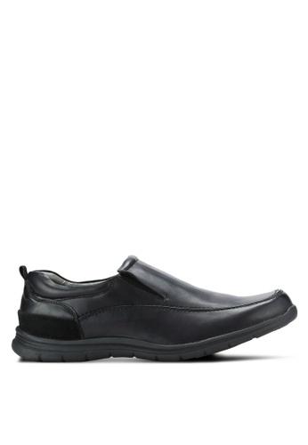 Bata black Comfit Men Dress Shoes BA156SH0RCUHMY_1