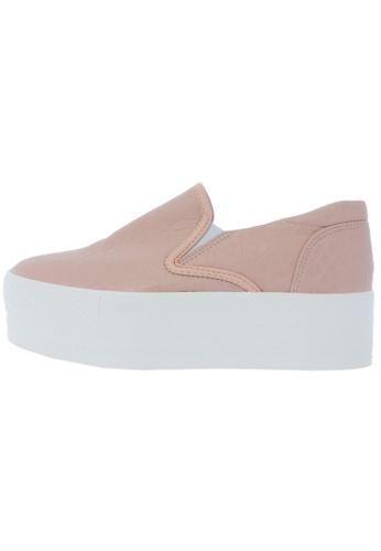 Maxstar C7 50 Synthetic Leather White Platform Slip on Sneakers US Women Size MA168SH45DJEHK_1