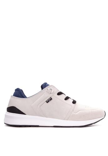 Levi's white Tab Runner Sneakers LE892SH28PSTPH_1