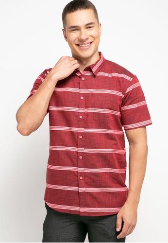 OLLten red O/L-Men Shirt 5ECCDAA2F4E45FGS_1