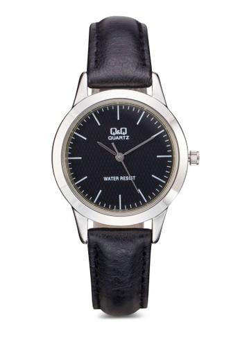 Q&Qesprit地址  Q947J302Y 細帶仿皮手錶, 錶類, 其它錶帶