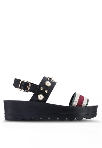 1ee454713731 Buy Noveni Studded Platform Wedges Online on ZALORA Singapore