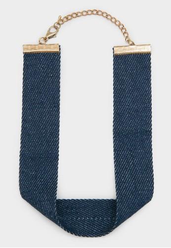 Berrybenka Label blue Blake Necklace 14A89AC234672CGS_1