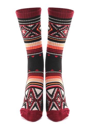 Hamlin multi Hamlin Seish Kaos Kaki Pria Wanita Tribe Motive Socks Casual Footwear Material Spandex ORIGINAL 76D72AA64D53D0GS_1