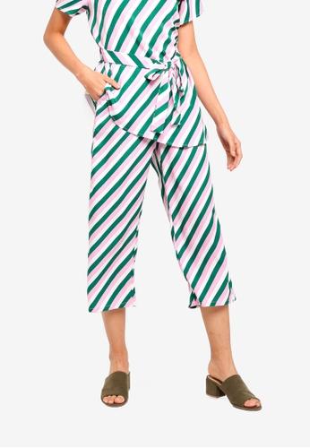 ZALORA multi Straight Pants A60B6AA55B848DGS_1