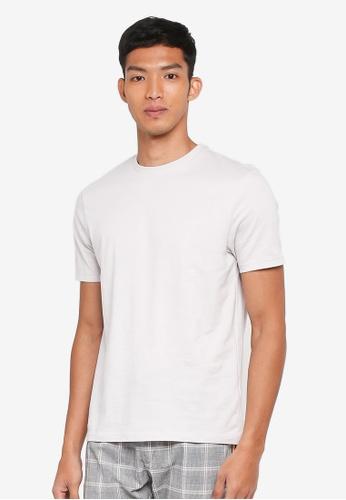 Topman grey Grey Slim T-Shirt 0C96BAA57EFA5EGS_1