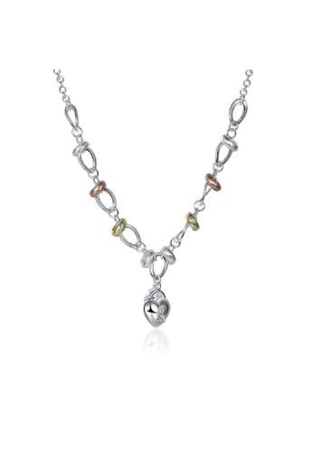 Tiaria white Tiaria Gold Plated Necklace Pendant Fashion SPCN212--K16 79888ACC9837D7GS_1