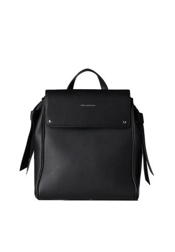 KARL LAGERFELD black K/Ikon Backpack 9FCC0AC2AD1BF3GS_1
