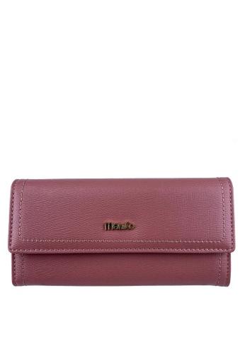 Mel&Co pink Faux Leather Long Wallet 208C0AC1A0EB32GS_1