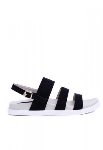MINKA black ALP ABY03 Black Sandal MI006SH38AQRID_1