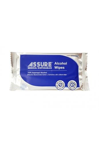 ASSURE ASSURE Alcohol Wipes 20x20cm (100pcs/pack) 4ECAEES3FBA457GS_1