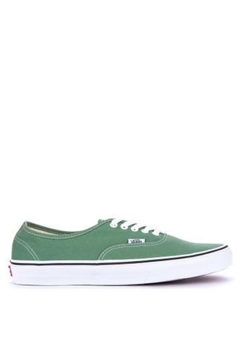 VANS green Authentic Sneakers 025F0SHBA3D461GS_1