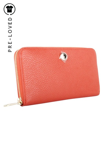 FURLA red Pre-Loved furla Red Leather Wallet 39AFFACD39F1B4GS_1