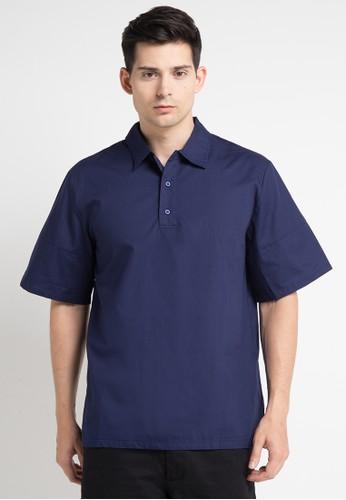 (X) S.M.L navy Roch Shirt XS330AA0WE9RID_1