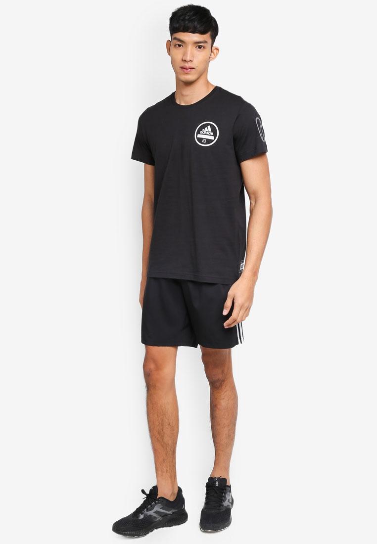 adidas Black 360 tee adidas adidas 7q0f0w