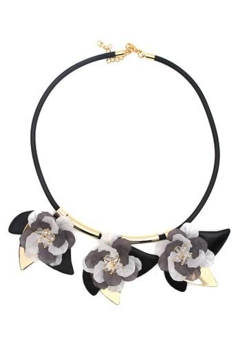 Istana Accessories Seril Flower Fashion Necklace