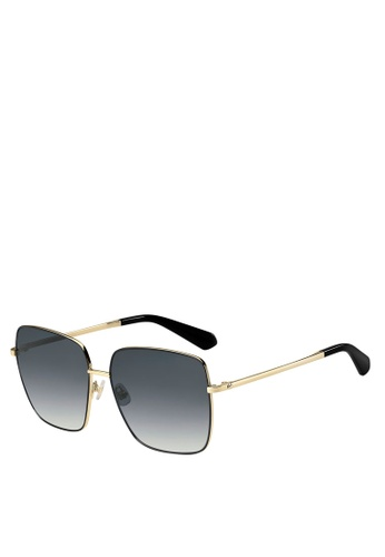 Kate Spade black Fenton/G/S Sunglasses D8494GL571F766GS_1